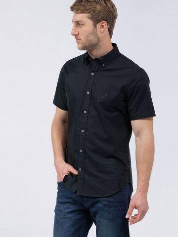 חולצה מכופתרת עם שרוולים קצרים של NAUTICA