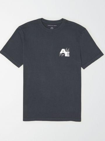 טי שירט לוגו / גברים של AMERICAN EAGLE
