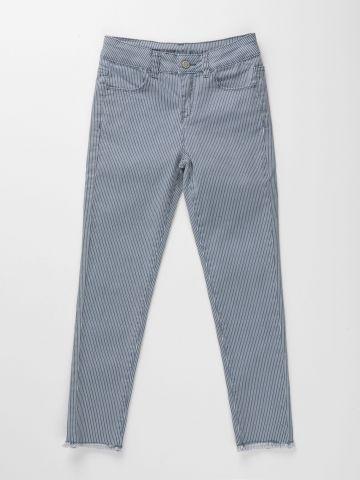 מכנסי סקיני בהדפס פסים / בנות של AMERICAN EAGLE