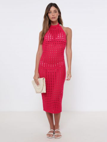 שמלת קולר חוף שקפקפה של TERMINAL X