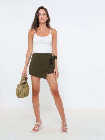 מכנסי חצאית מעטפת של TERMINAL X