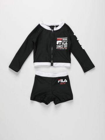 סט בגד ים לוגו / 12M-4Y של FILA