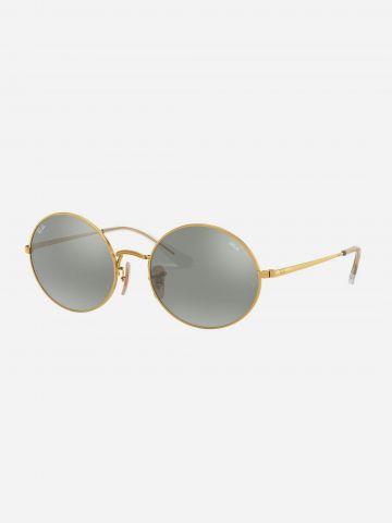 משקפי שמש עגולים OVAL 1970 של RAY-BAN