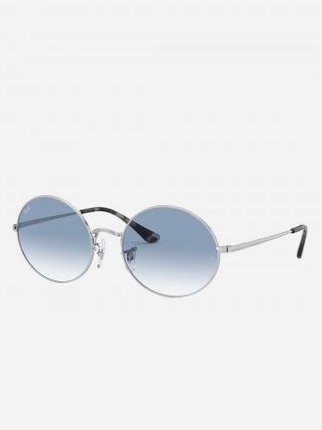 משקפי שמש עגולים Oval של RAY-BAN
