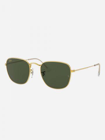 משקפי שמש מלבניים עם שוליים מעוגלים Frank Legend של RAY-BAN