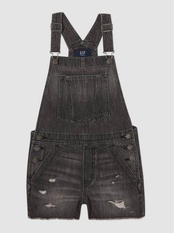 אוברול ג'ינס עם קרעים / בנות של GAP