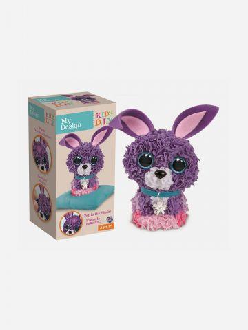 Plush Craft מוזאיקת בד מוקצפת ארנב / 5+ של TOYS