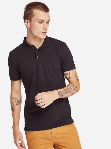 חולצת פולו עם רקמת לוגו Slim של TIMBERLAND