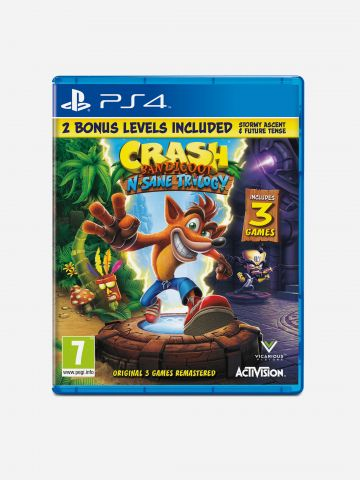 Crash Bandicoot N. Sane Trilogy / PlayStation 4 של TOYS