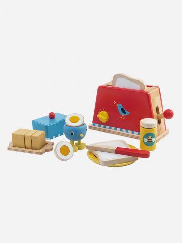 ערכת טוסטר וארוחת בוקר מעץ Tender Leaf Toys / +3 של TOYS