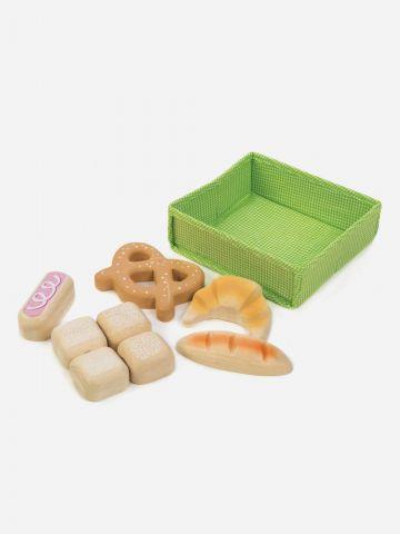 סלסלת לחמים מעץ Tender Leaf Toys / +3 של TOYS