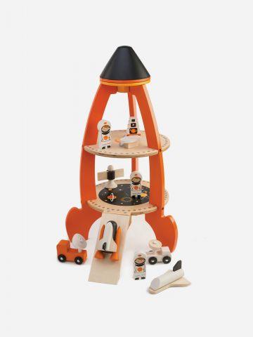 תחנת שיגור חלליות מעץ Tender Leaf Toys / 3+ של TOYS
