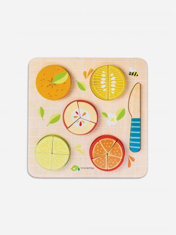 פאזל לימוד בדוגמת פירות הדר Tender Leaf Toys / +1.5 של TOYS