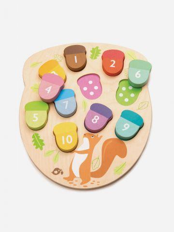פאזל לימוד ספירה צבעוני Tender Leaf Toys / +1.5 של TOYS