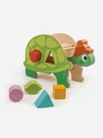 צעצוע צב התאם צורה מעץ Tender Leaf Toys / +18M של TOYS
