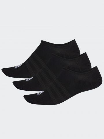 מארז 3 זוגות גרביים נמוכים עם לוגו של ADIDAS Performance