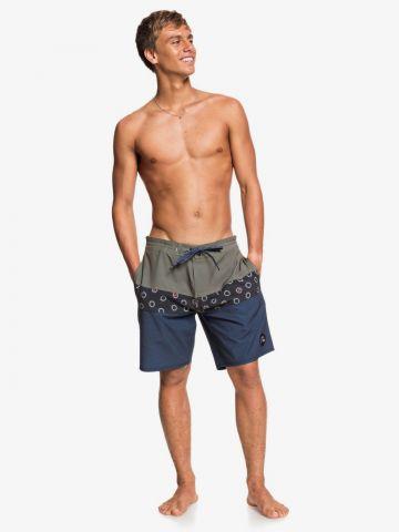 מכנסי בגד ים קולור בלוק של QUIKSILVER