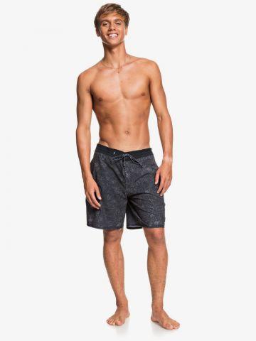 מכנסי בגד ים בהדפס נקודות של QUIKSILVER