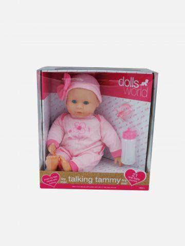 בובת תינוקת ״תמי״ מדברת / 18M+ של TOYS