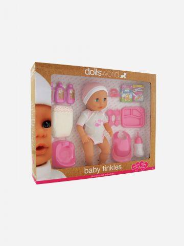 בובת תינוקת עם סט האכלה / 18+ של TOYS