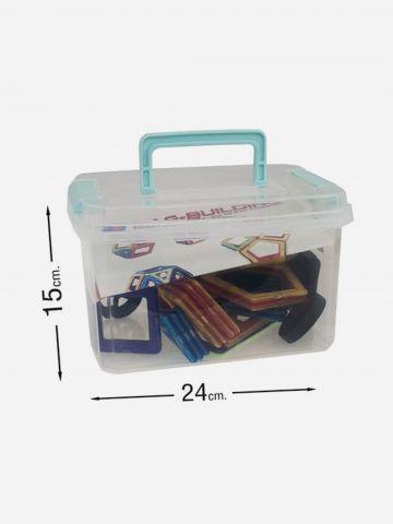 משחק 56 מגנטים בקופסת פלסטיק / 3+ של TOYS