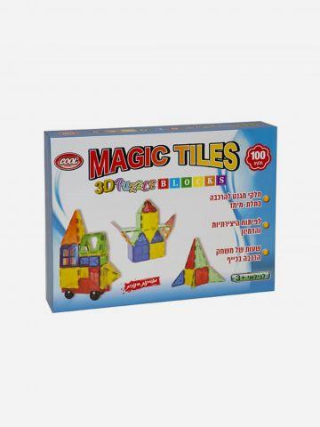 משחק מגנטים תלת מימדי / 3+ של TOYS