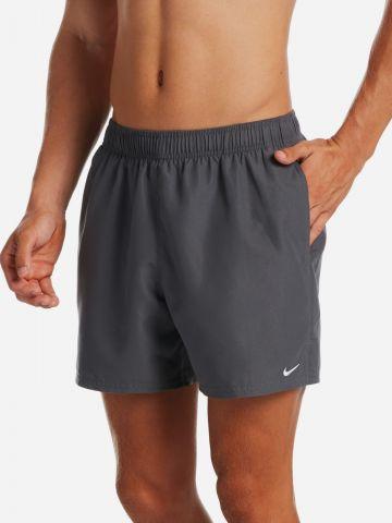 מכנסי בגד ים קצרים עם לוגו של NIKE