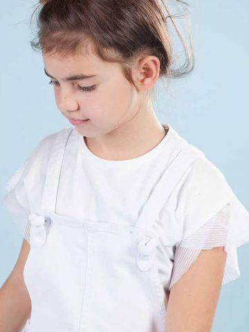 חולצת נצנצים עם שרוולי פליסה / בנות של MINENE