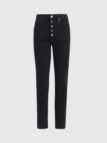 ג'ינס סקיני עם כפתורים / נשים של ALL SAINTS