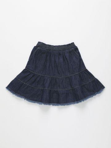 חצאית דמוי ג'ינס קומות / בנות של AMERICAN EAGLE