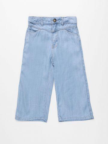 ג'ינס קרופ בגזרה רחבה Lyocell wide / בנות של AMERICAN EAGLE