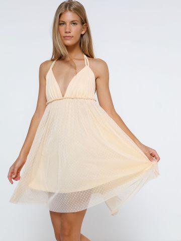 שמלת מיני טול של KIMOR X TERMINAL X
