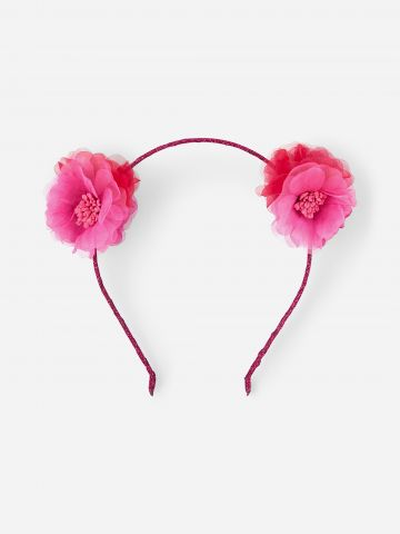 קשת שיער עם פרחים / בנות של THE CHILDREN'S PLACE