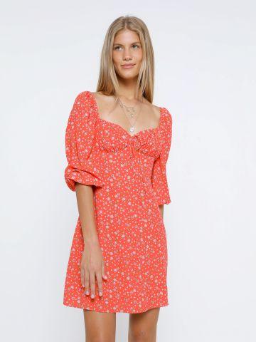 שמלת מיני בהדפס פרחים של GLAMOROUS