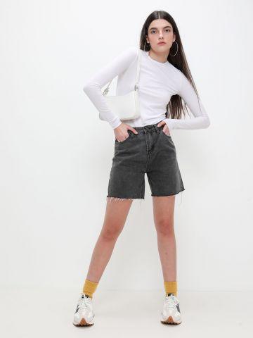 ג'ינס בייקר עם סיומת פרומה של TERMINAL X