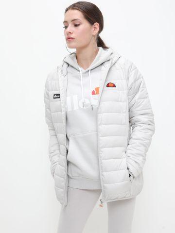 מעיל קווילט עם לוגו של ELLESSE