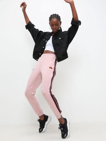 מכנסיים ארוכים עם פאצ'ים לוגו של ELLESSE