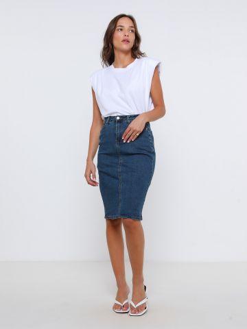 חצאית ג'ינס מידי של FOX
