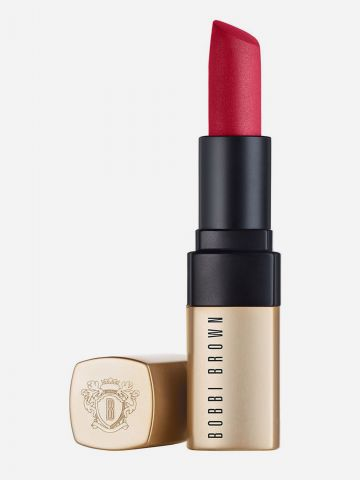 שפתון מאט בגימור קליל Luxe Matte Lip Color - FEVER PITCH של BOBBI BROWN