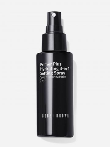 תרסיס פנים קליל לקיבוע ורענון האיפור Primer Plus Hydrating 3-in-1 Spray של BOBBI BROWN