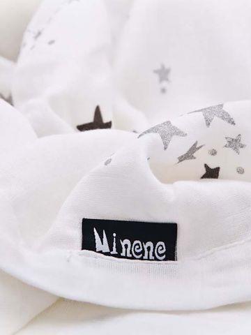 שמיכה מלבנית בהדפס כוכבים / בייבי של MINENE