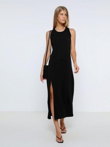 שמלת מקסי עם שסע של TERMINAL X
