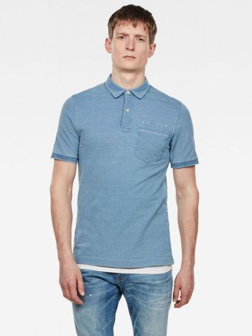 חולצת פולו פיקה של G-STAR