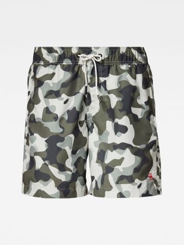 מכנסי בגד ים בהדפס קמופלאז' / גברים של G-STAR
