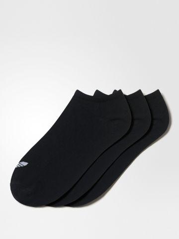 מארז 3 זוגות גרביים נמוכים עם לוגו של ADIDAS Originals
