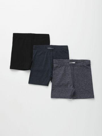 מארז 3 מכנסי טייץ קצרים / בנות של FOX