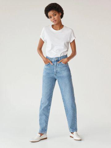 ג'ינס Slouchy בגזרה ישרה של MANGO