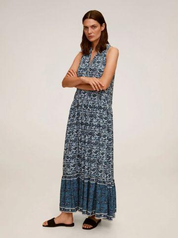 שמלת מקסי בהדפס פייזלי של MANGO