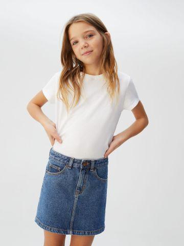 חצאית ג'ינס מיני של MANGO