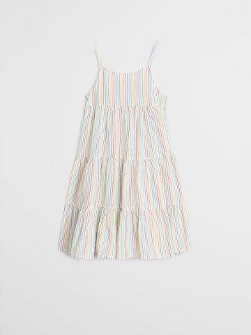 שמלת קומות בהדפס פסים / בנות של MANGO
